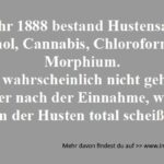 Hustensaft 1888