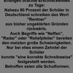 Umfrage des Goethe Instituts Erlangen