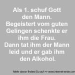 Gott und der Alkohol