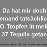 KO-Tropfen in 37 Tequila