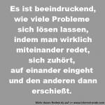Probleme lassen sich lösen